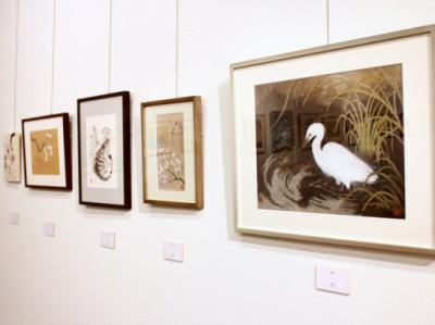■日本画作品の展示