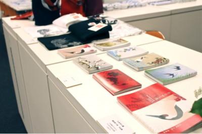 ■erakuで販売予定の作品集「たまゆら集」、ポストカード