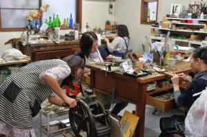 40周年を迎える彫金教室「グループ 空」